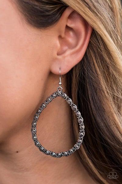 Galaxy Gardens - Silver Earrings