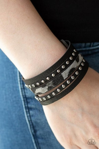 Born To Be WILDCAT - Silver Snap Wrap