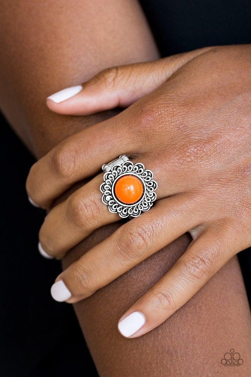 Garden Stroll - Orange Ring