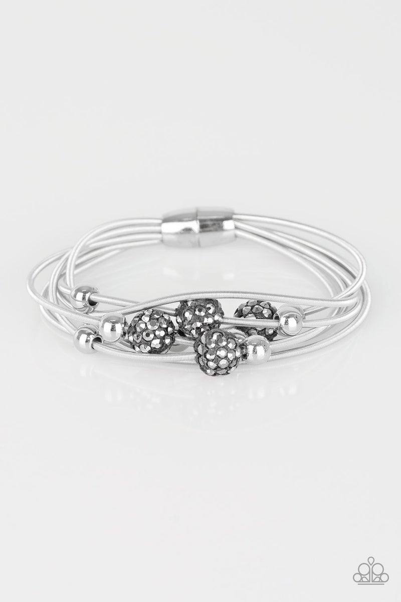 Marvelously Magnetic - Silver Magnetic Bracelet