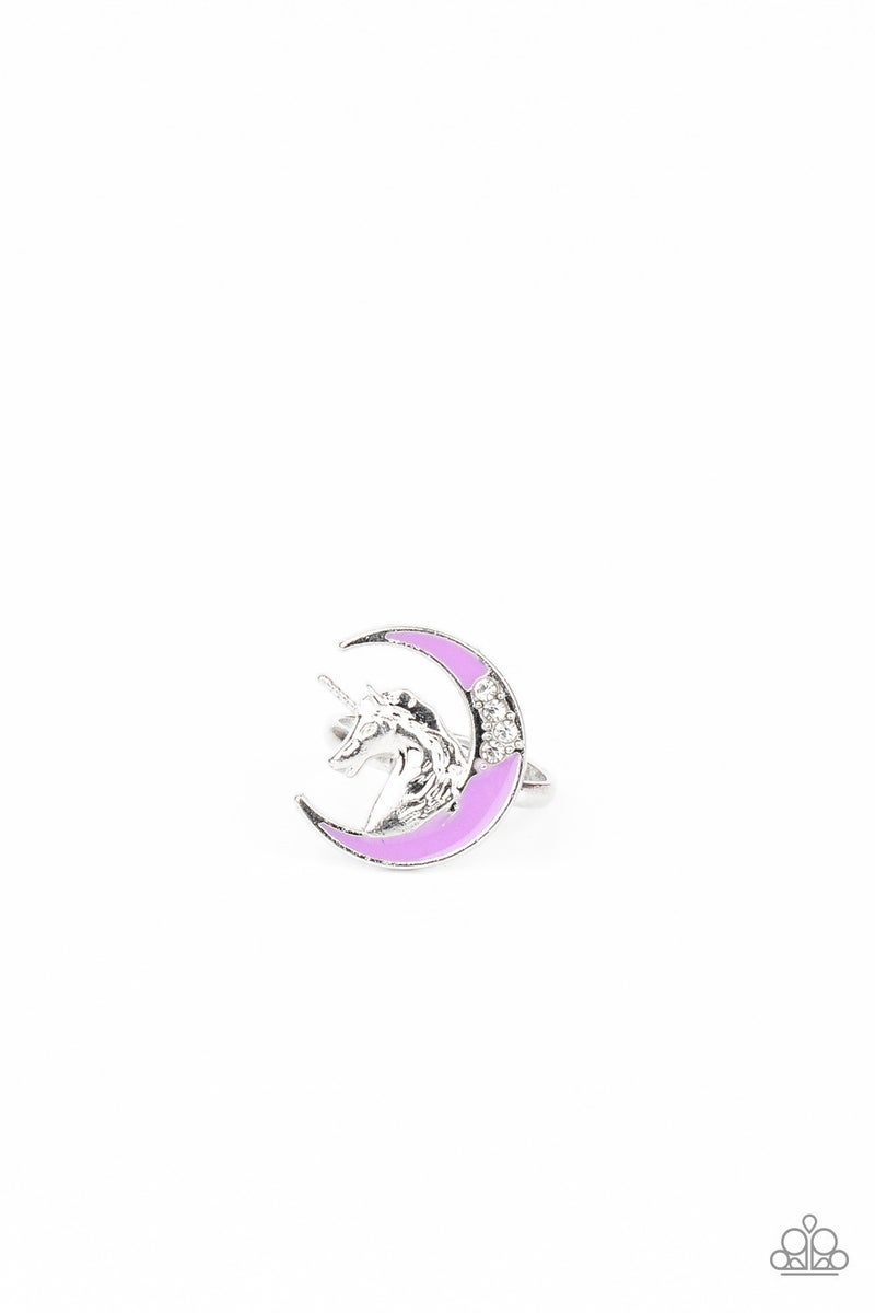 Starlet Shimmer - Unicorn and Moon Rings
