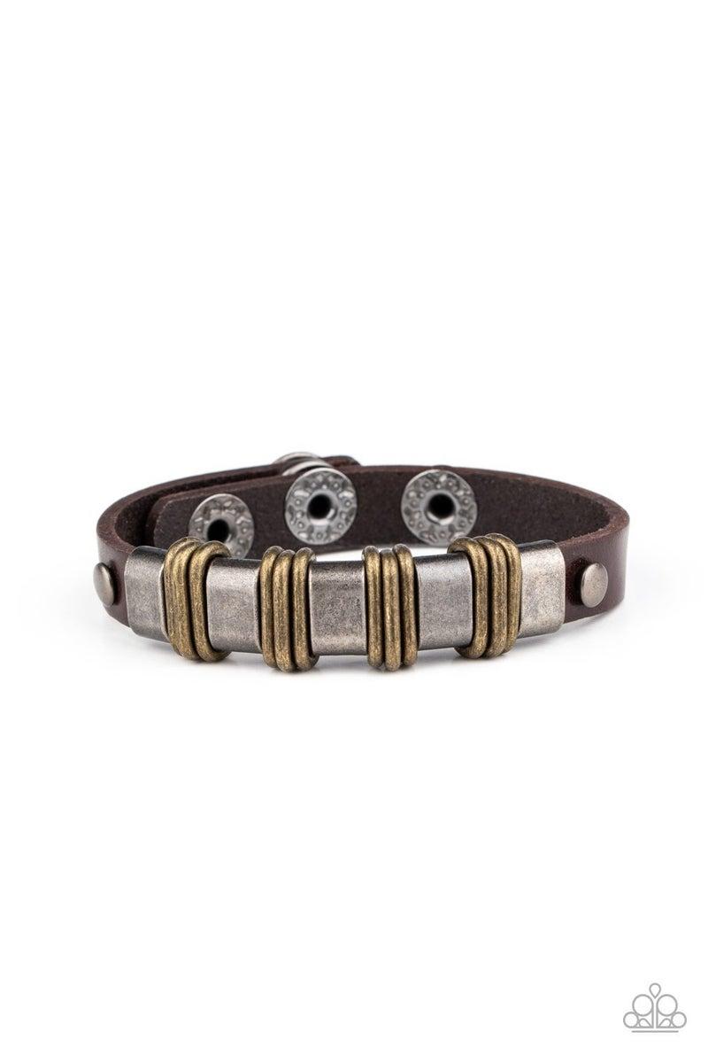 Rural Explorer - Brown Urban Bracelet