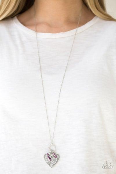 Romeo Romance - Purple Necklace