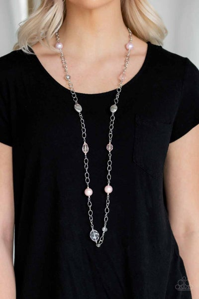 Only For Special Occasions - Pink Necklace