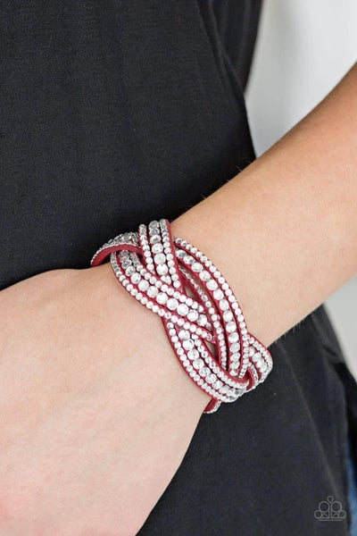 Bring On The Bling - Red Snap Wrap