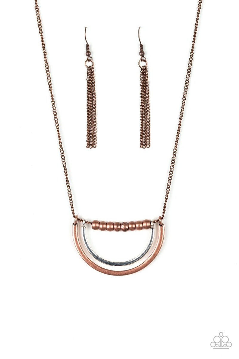 Artificial Arches - Copper Necklace