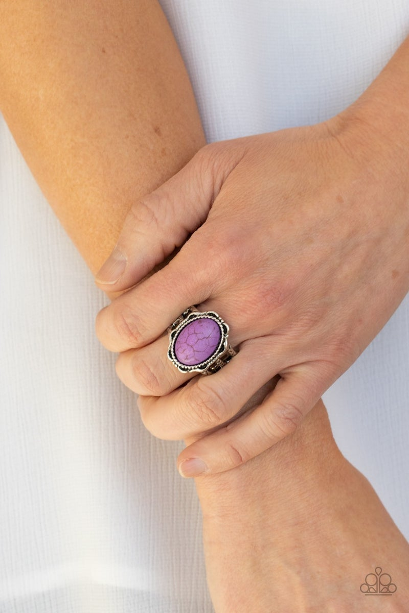 Flowering Dunes - Purple Ring