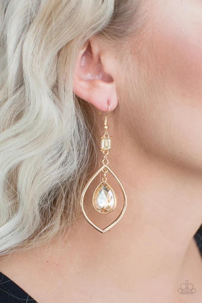 Priceless - Gold Earrings