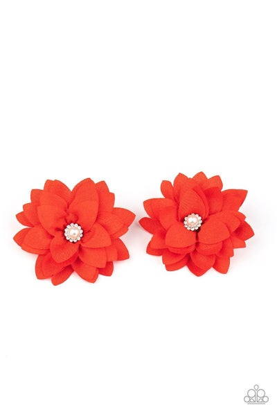 Things That Go BLOOM! - Red Hair Clip