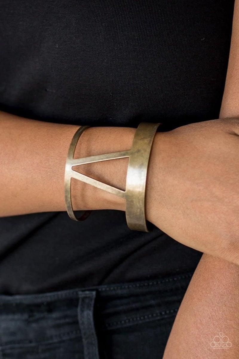 Rural Ruler - Brass Cuff