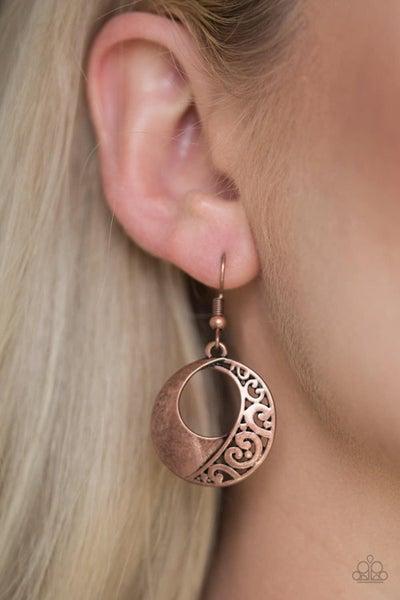 Eastside Excursionist - Copper Earrings