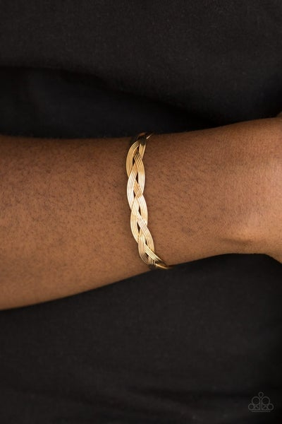Business As Usual - Gold Cuff