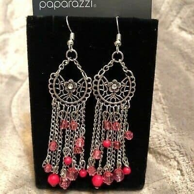 Daisy Daydream - Pink Earrings