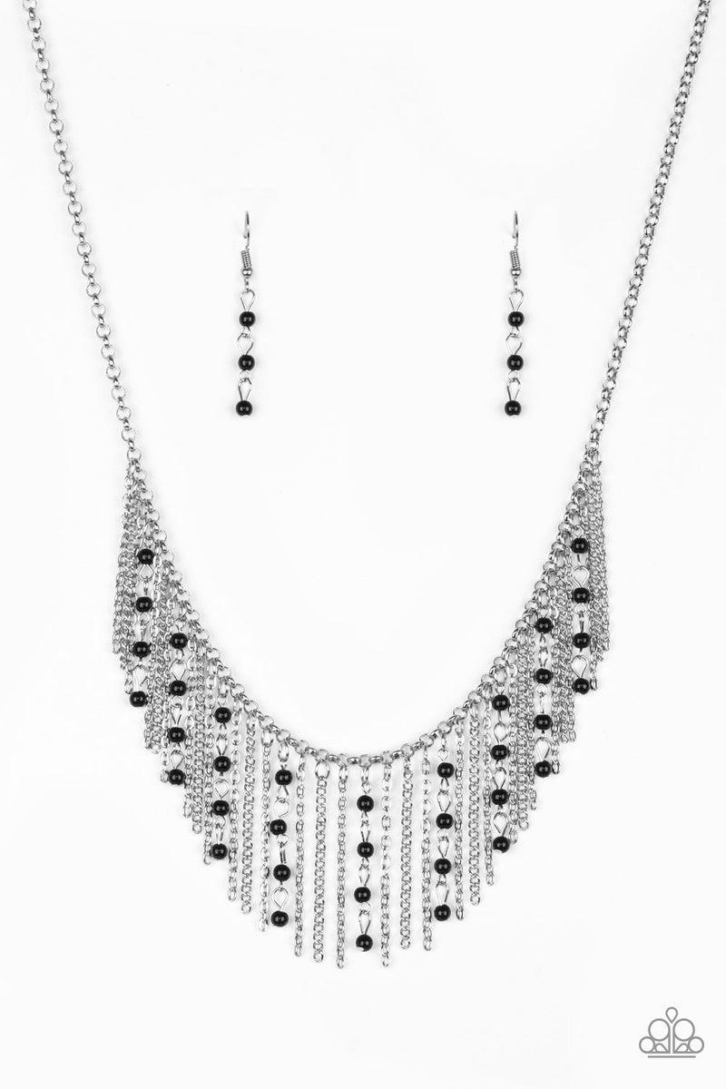 Harlem Hideaway - Black Necklace