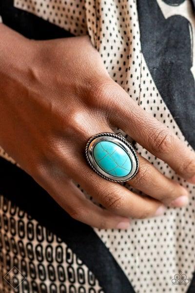 Canyon Sanctuary - Blue Ring - Fashion Fix June 2021