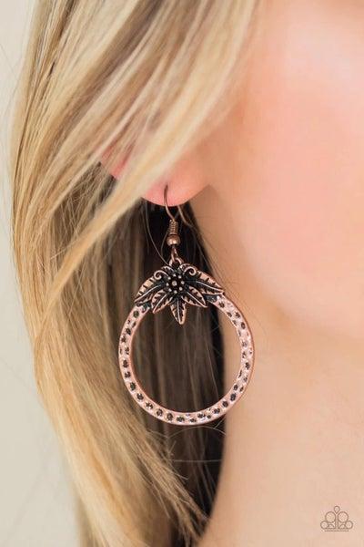 Island Insider – Copper Earrings
