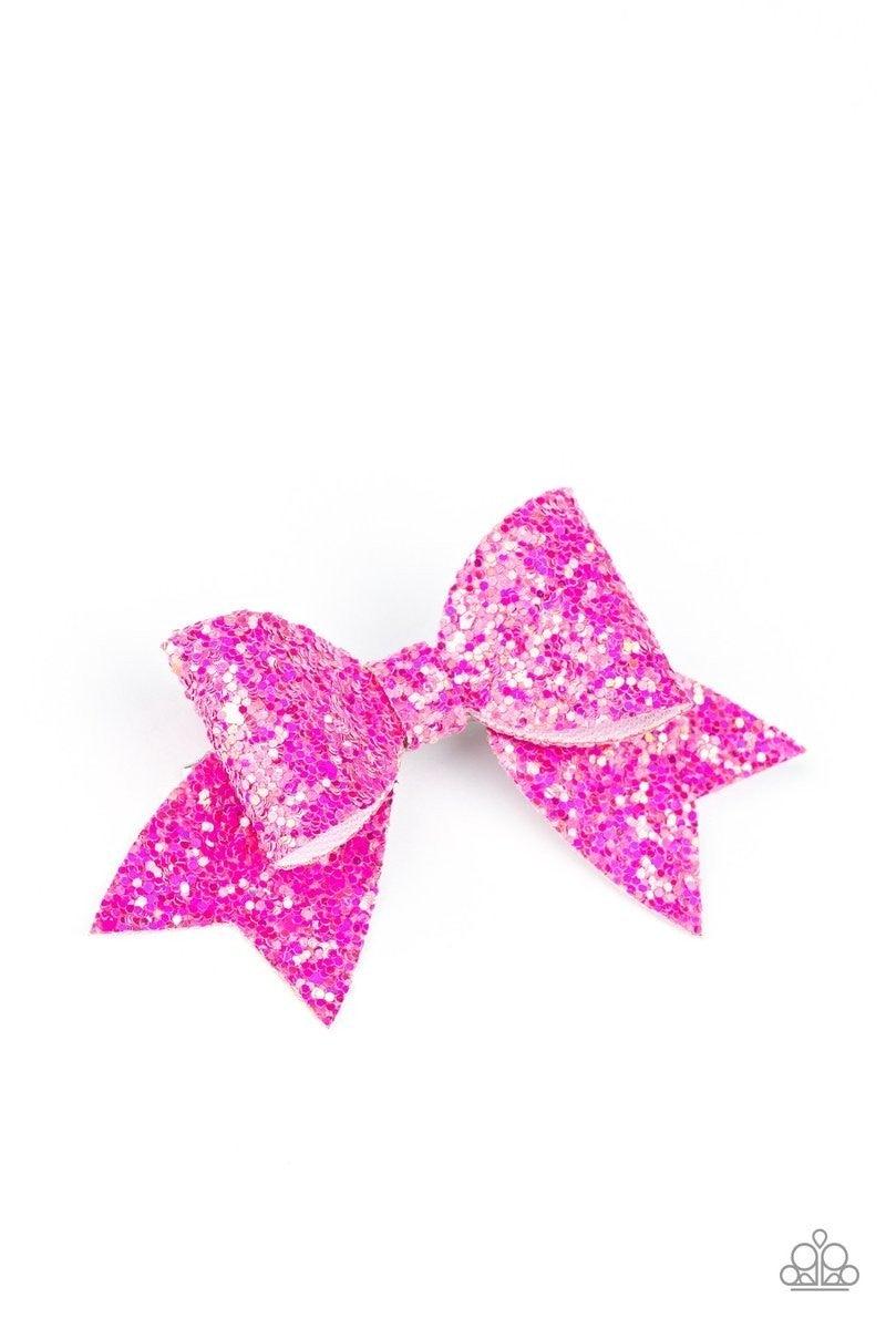 Confetti Princess - Pink Hair Clip