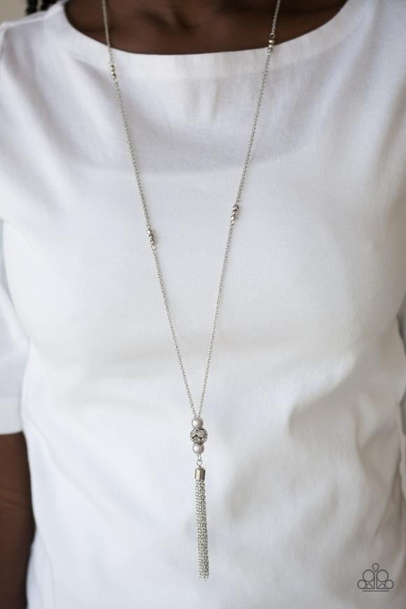 The Celebration Of The Century - Silver Necklace