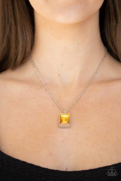Pro Edge - Yellow Necklace