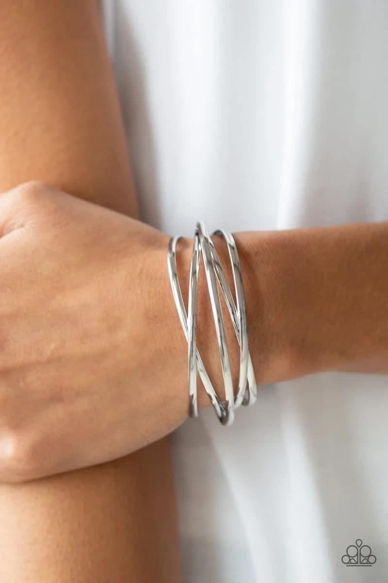 Modest Goddess - Silver Cuff