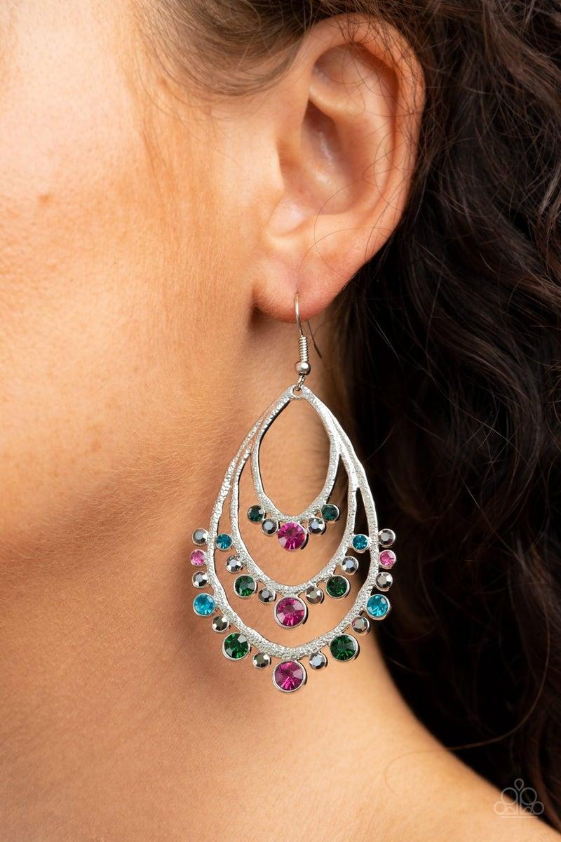 Break Out In TIERS - Multi Earrings