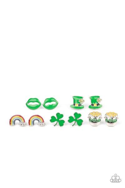 Starlet Shimmer - St. Patrick's Earrings