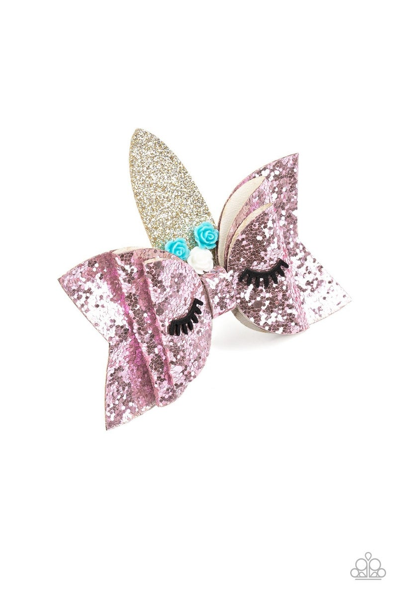 Just Be a YOU-nicorn - Pink Hair Clip