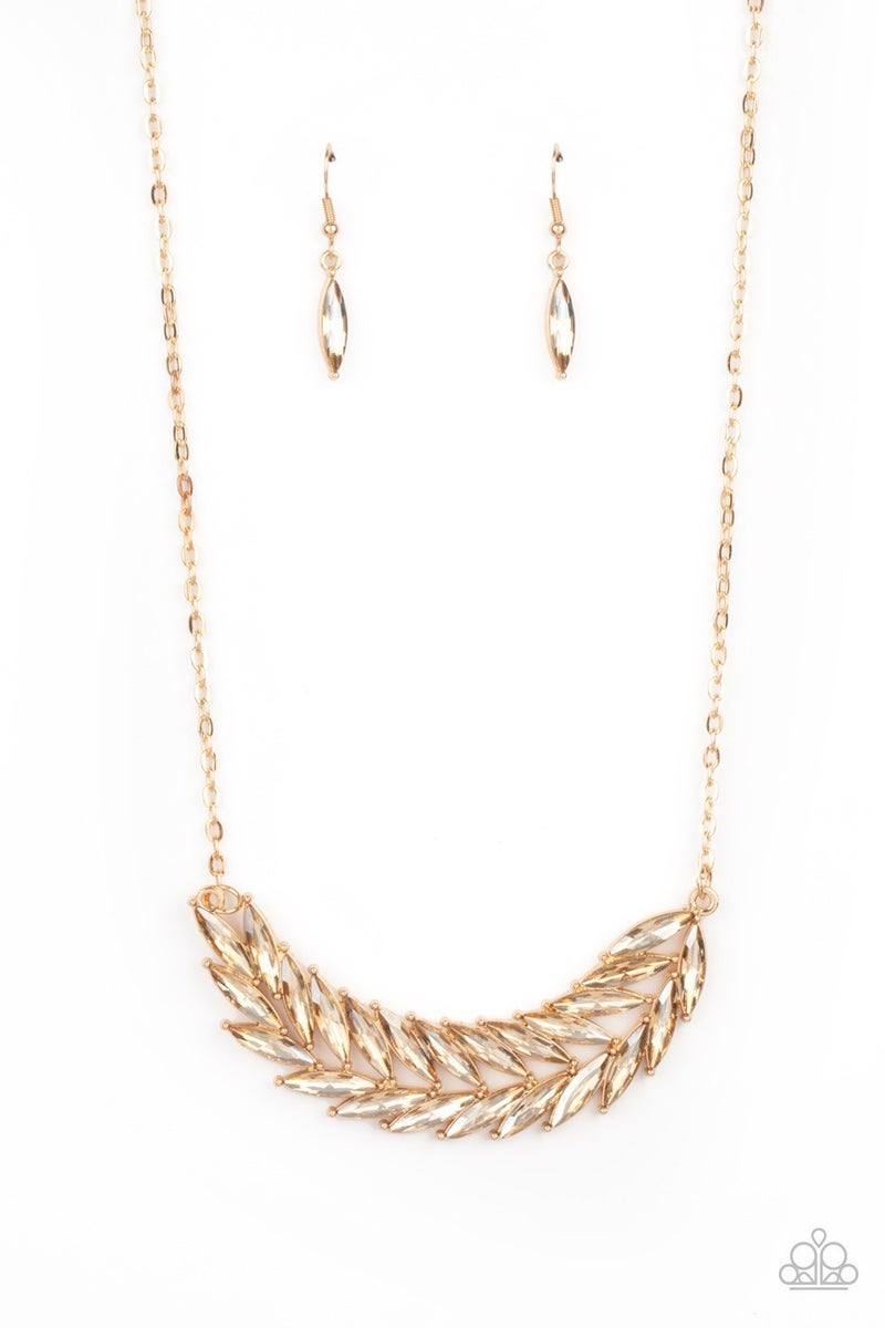 Flight of FANCINESS - Gold Necklace