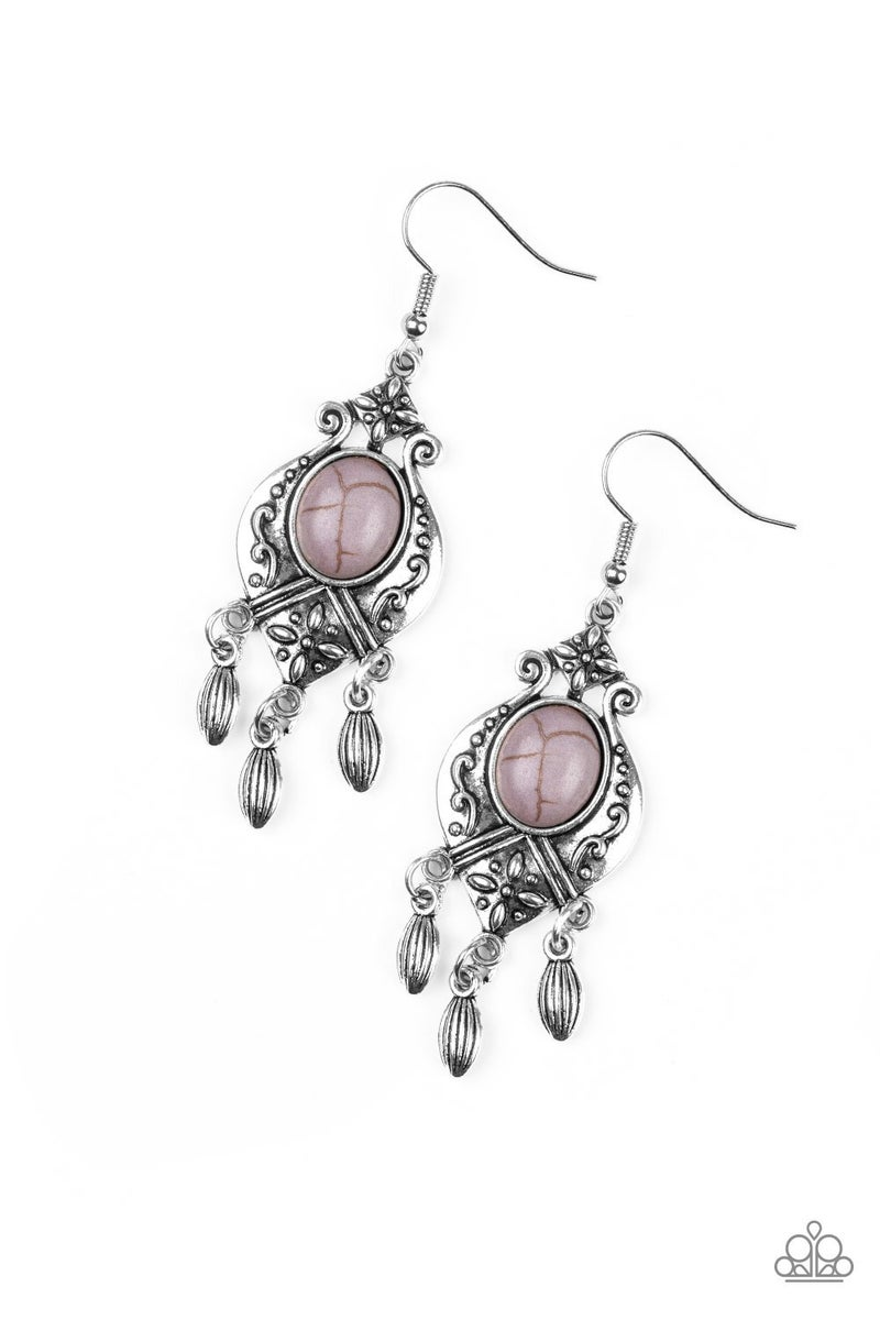 Enchantingly Environmentalist - Silver Earrings