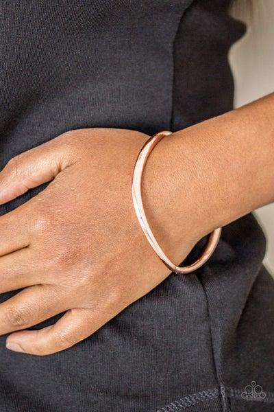 Awesomely Asymmetrical - Copper Bangle