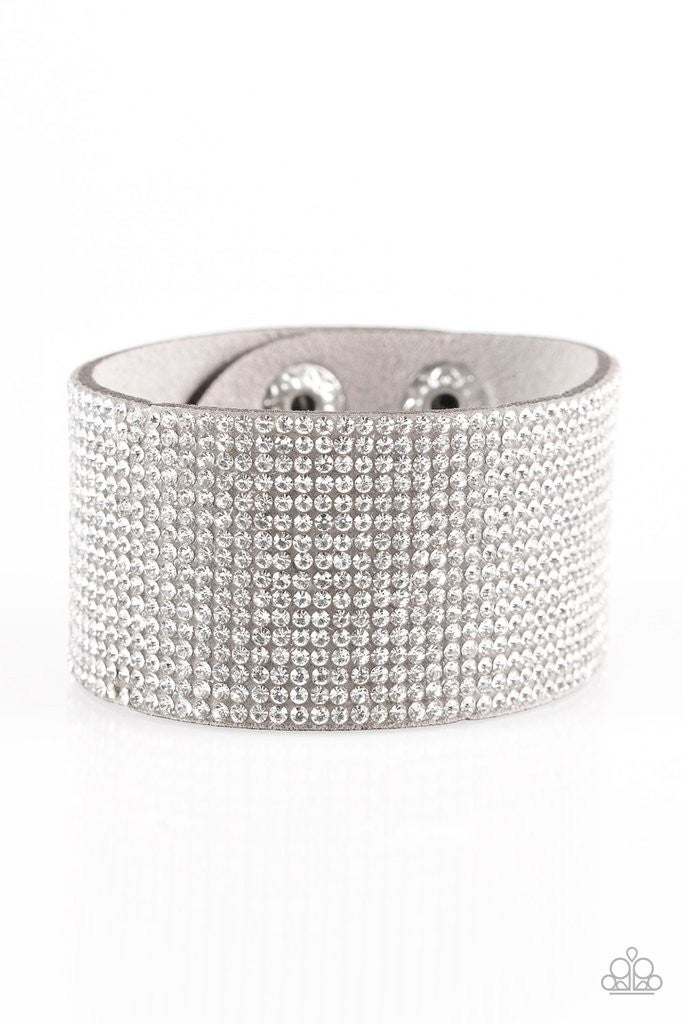 Roll with the Punches - Silver Snap Wrap
