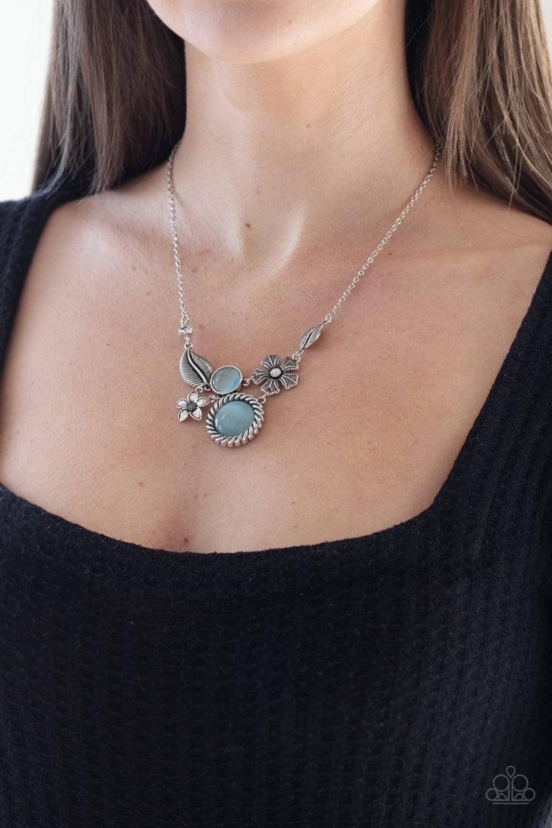 Exquisitely Eden - Blue Necklace