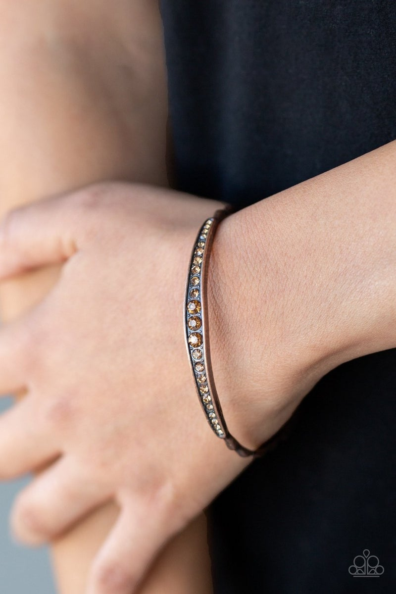 Just SPARKLE and Wave - Copper Bangle