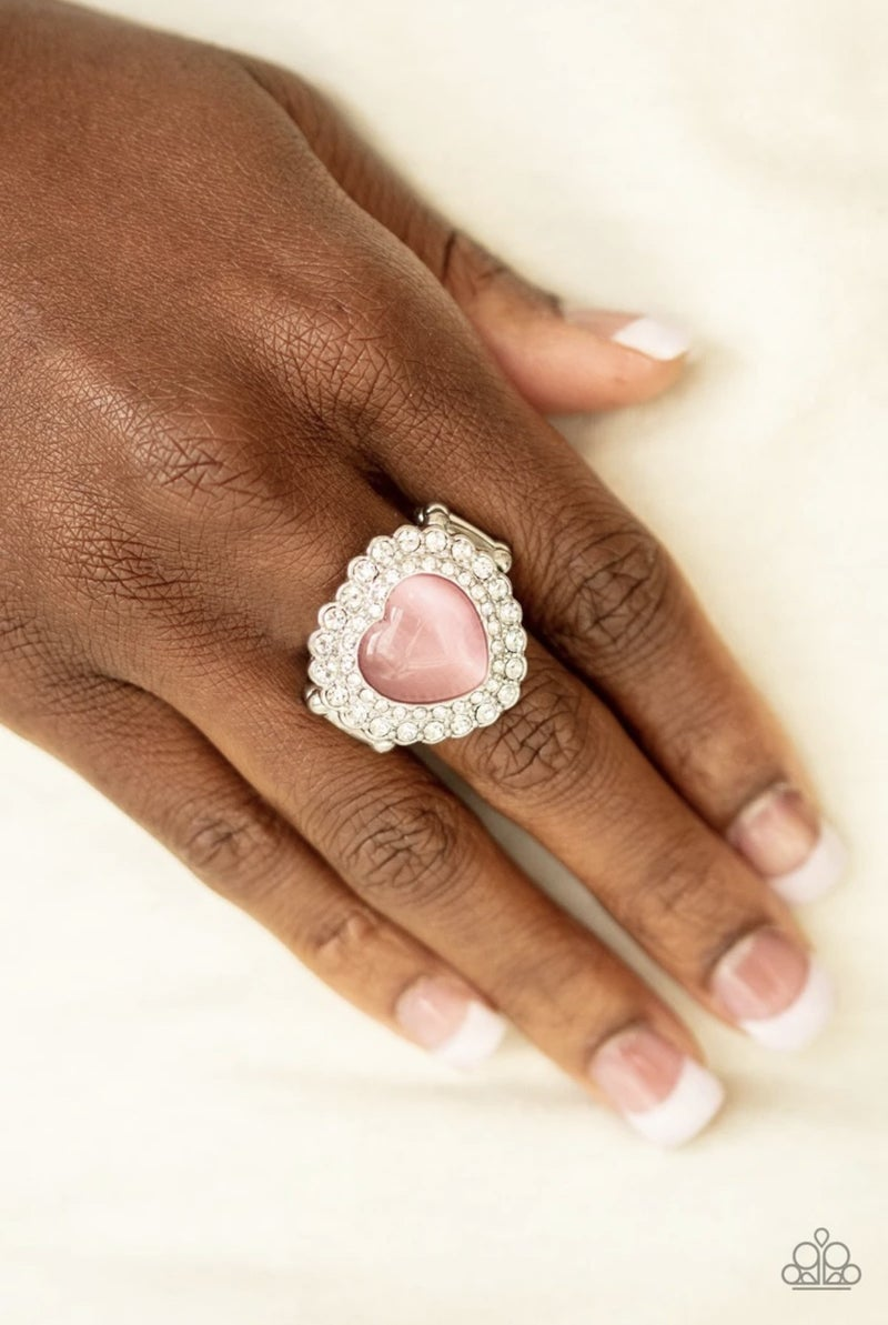 Lovely Luster -  Pink Ring