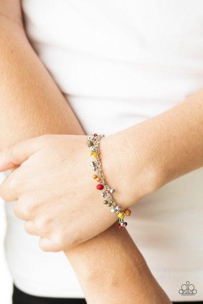 Aquatic Adventure - Multi/Yellow Clasp Bracelet