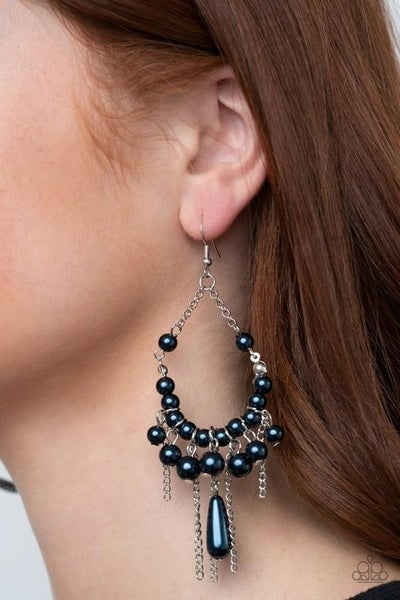 Party Planner Posh - Blue Earrings