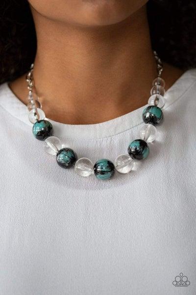 Torrid Tide - Blue Necklace