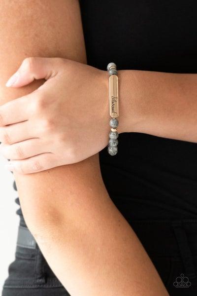 Born Blessed - Gold Urban Bracelet