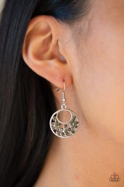 Sugary Shine – Silver Earrings