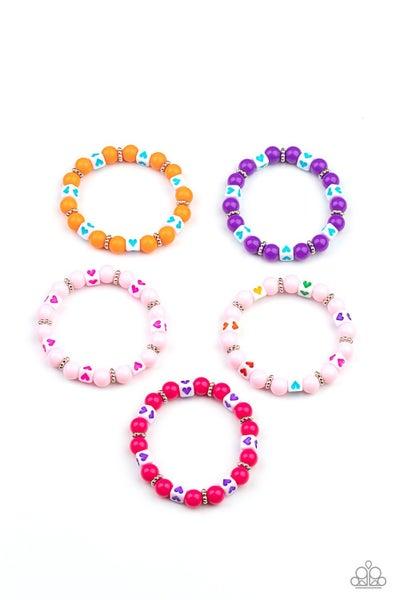 Starlet Shimmer - Heart Stamp Bracelet