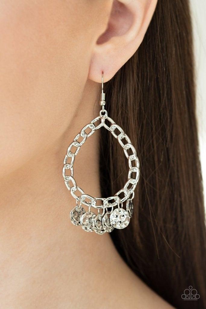 Street Appeal - Silver Earrings