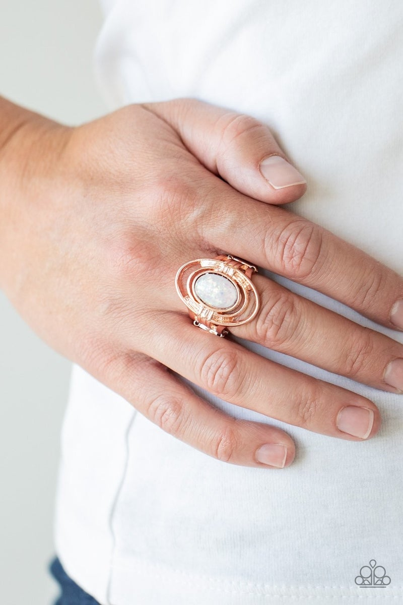 Peacefully Pristine - Rose Gold Ring