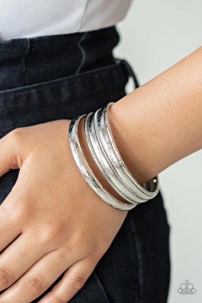 The Customer Is Always BRIGHT - Silver Bangles