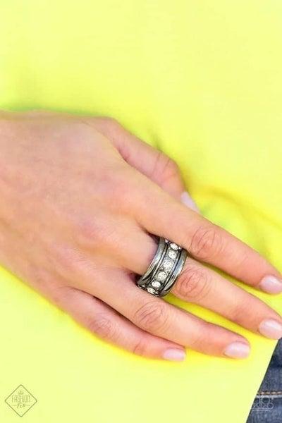 Dauntless Shine - Gunmetal Ring