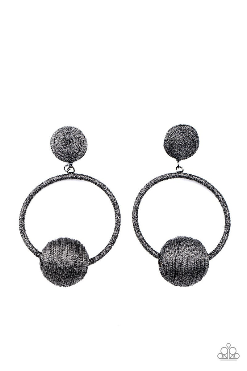Social Sphere - Silver Earrings - Life of the Party April 2021