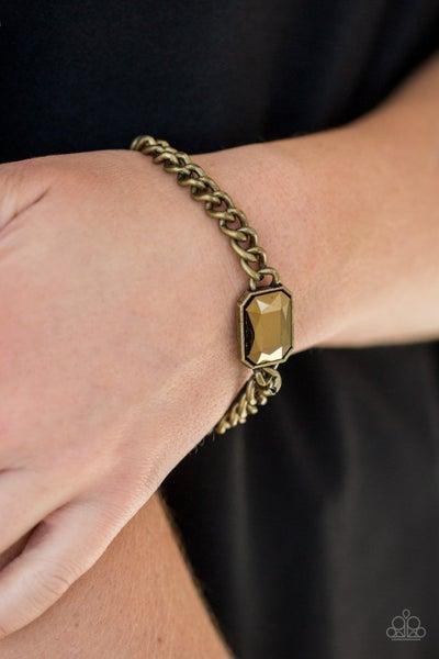 Command and Conqueror - Brass Clasp Bracelet