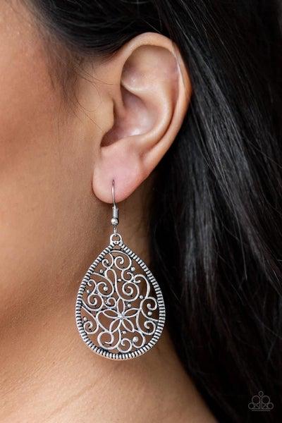 Im Doing VINE - Silver Earrings