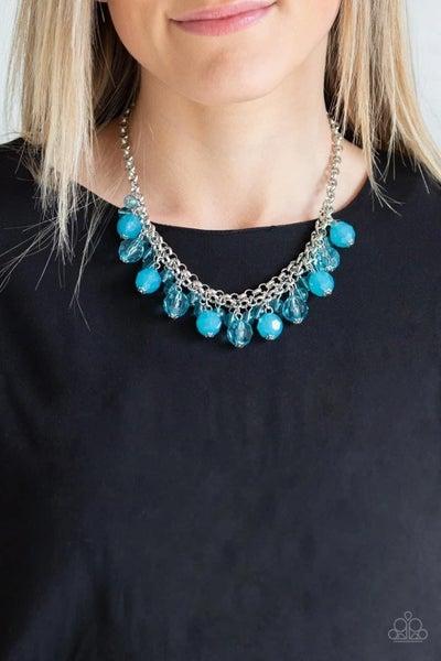 Fiesta Fabulous - Blue Necklace