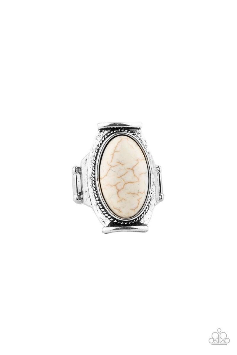 Desert Healer - White Ring