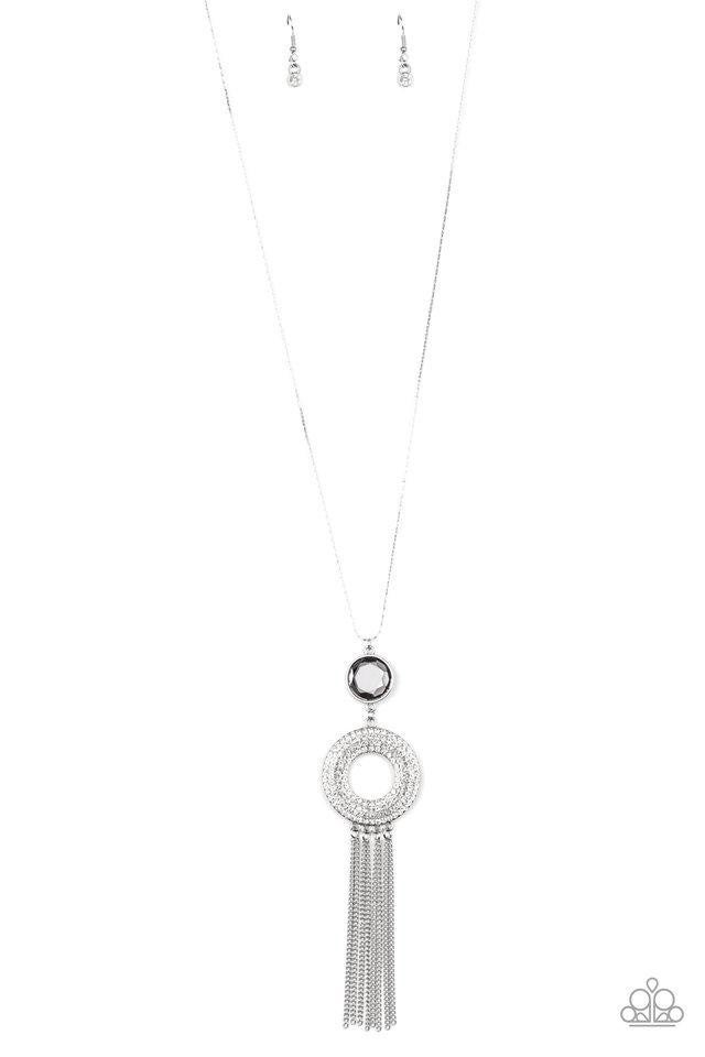Sassy As They Come - Silver Necklace